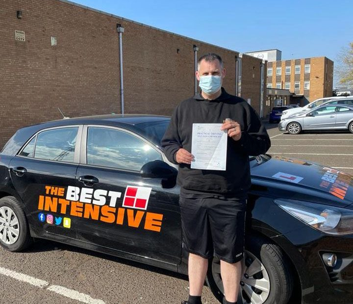Student who learned to drive in 5 days with The Best Intensive